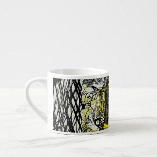 Fish Scribble Scratch Espresso Cup