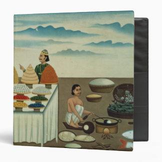 Fish seller, sweetmeat maker and sellers vinyl binder