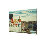 Fish seller, sweetmeat maker and sellers canvas prints
