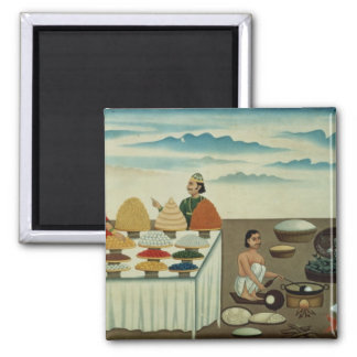 Fish seller, sweetmeat maker and sellers magnet