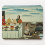 Fish seller, sweetmeat maker and sellers mouse pad