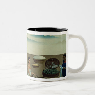 Fish seller, sweetmeat maker and sellers Two-Tone coffee mug