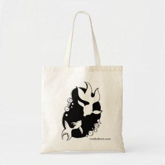 Fish Shadows Tote Bag