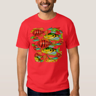 FISH SHIRT DOUBLE SIDED