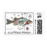 Fish Smell Stamp
