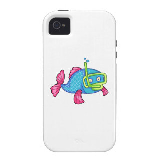FISH SNORKELING iPhone 4 CASES