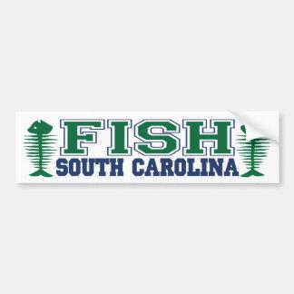Fish South Carolina Bumper Sticker