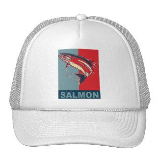 Fish Species Iconized like obama Mesh Hat