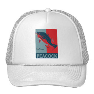 Fish Species Iconized like obama Trucker Hats