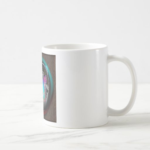 FISH_SPHERE_WOOD MUG