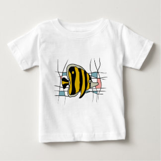 Fish stained glass t-shirt