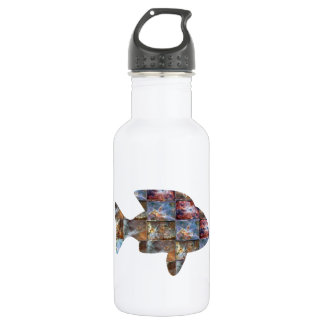 FISH STAINLESS STEEL WATER BOTTLE