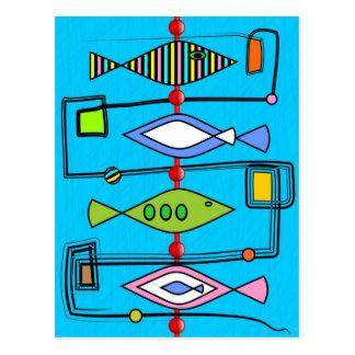 Fish Stick Postcard
