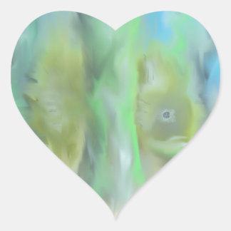 Fish Heart Stickers