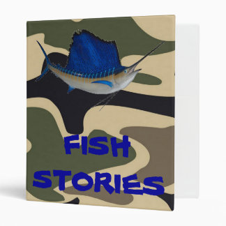 FISH STORIES BINDER