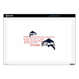 Fish Story Laptop Decals
