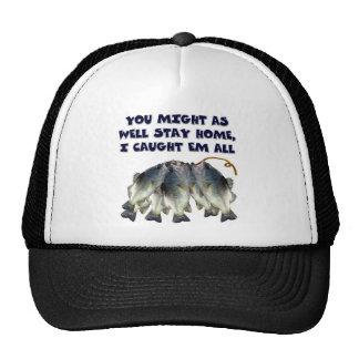 fish stringer trucker hat