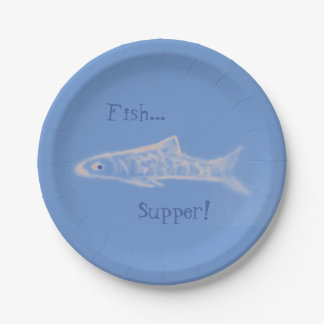 Fish Supper! Paper Plates