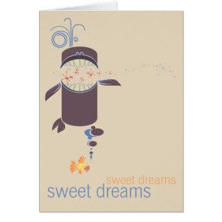 Fish Sweet Dreams Greeting Card