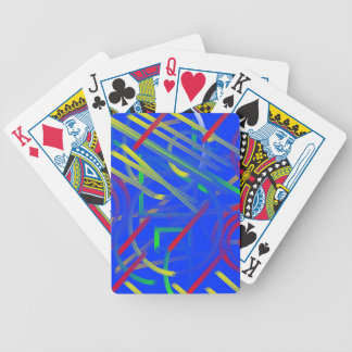 Fish Swimming in the Lily Pond Bicycle Playing Cards