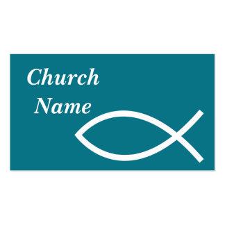 Fish Symbol Business Card