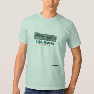 Fish T-shirt Lake Martin, Alabama
