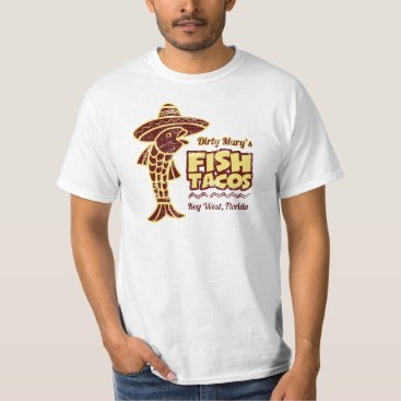 Beach Themed Fish Tacos T-Shirt
