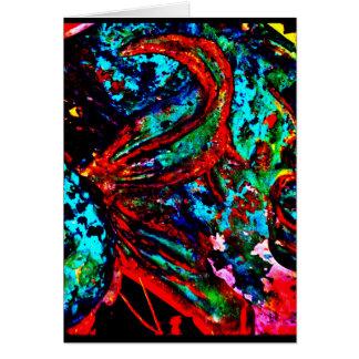 """""""Fish Tail"""" JTG Art Greeting Card"""