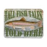 Fish tales magnet vinyl magnets