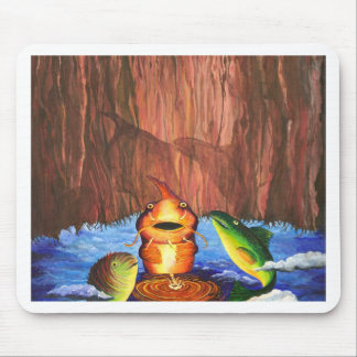 Fish Tales Mouse Pad