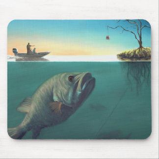 """""""Fish Tales"""" Mouse Pad"""