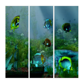Fish Tank Aquarium Art