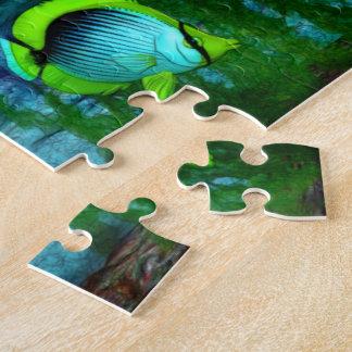 Fish Tank Aquarium Art Jigsaw Puzzle