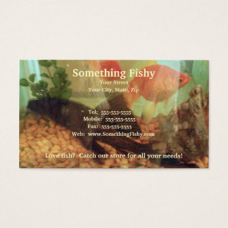Fish Tank Business Card