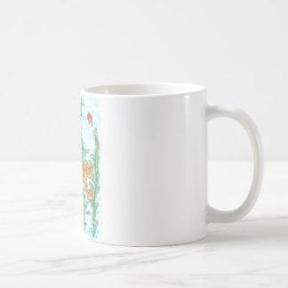 Fish Tank Classic White Coffee Mug