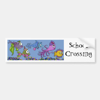Fish Tank Dolled Up Bumper Stickers