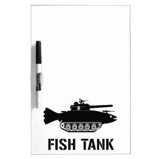 Fish Tank Dry-Erase Board