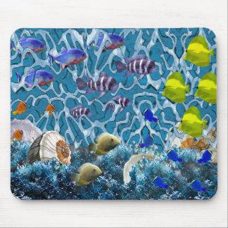 fish tank mouse pad