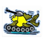 Fish tank postcards