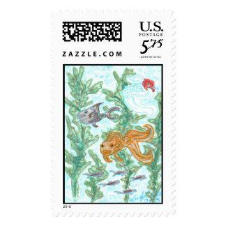 Fish Tank Stamps