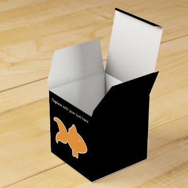 Professional Business Fish Theme Party Favor Box