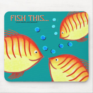 Fish This2 Mouse Pad