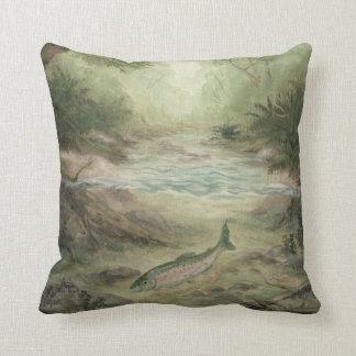Salmon pillows decorative throw pillows zazzle for Fish throw pillows