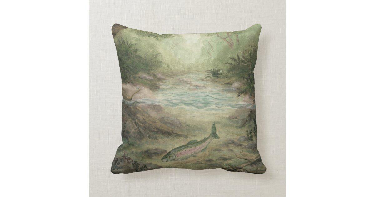 Fish throw pillow zazzle for Fish throw pillows