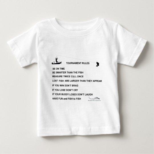 fish tournament rules baby T-Shirt