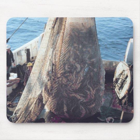 Fish Trawling Net Mouse Pad