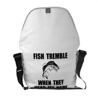 Fish Tremble Courier Bag