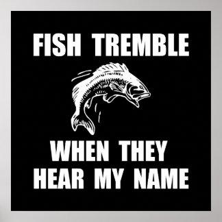 Fish Tremble Poster