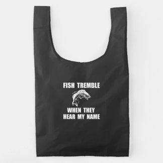 Fish Tremble Reusable Bag