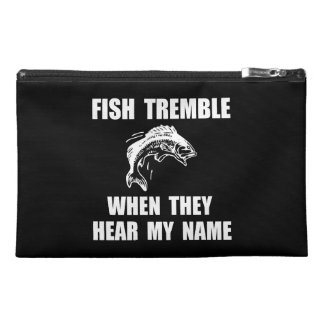 Fish Tremble Travel Accessories Bag